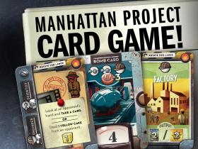 Chain Reaction: Manhattan Project Card Game -  Minion Games